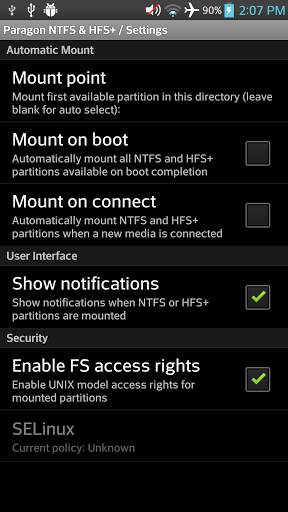 Download Paragon UFSD root mounter 1 26 APK for Android