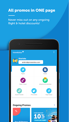 Download Traveloka Book Flight & Hotel 2 15 1 APK for Android