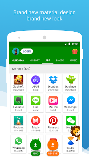Free download Xender - File Transfer & Share for HTC ChaCha