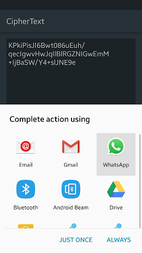 Free download CipherText for Gionee F100, APK 1 0 for Gionee